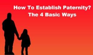 establish paternity