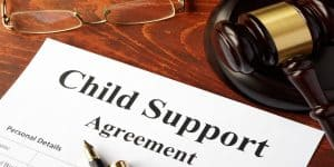 fraudulent child support claim